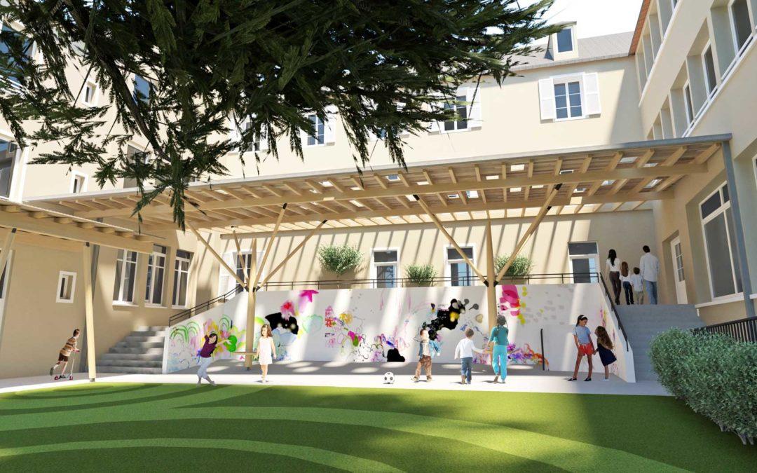 Rénovation de l'Ecole Saint Paul et Logements – Rodez