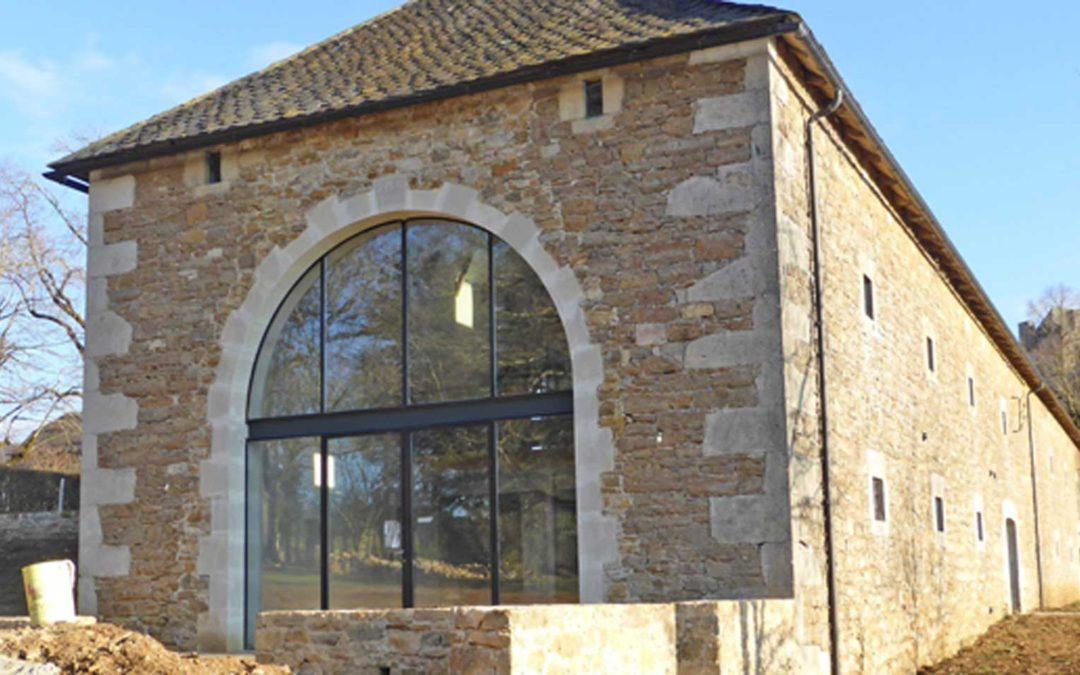 Rénovation d'une Grange à Montrozier
